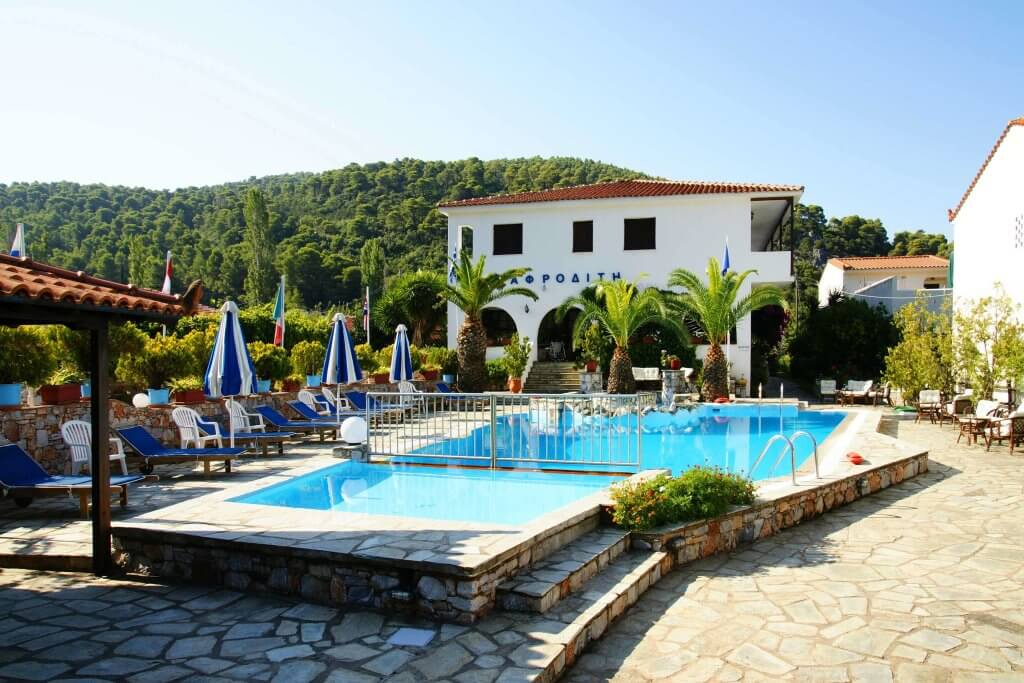 Facilities - Afrodite Hotel in Skopelos, Panormos